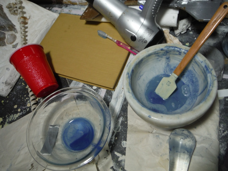 Extracting Blue Pigment from Azurite – Tlapalcaxitl